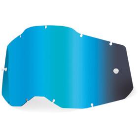 100% Anti-Fog Ersatzscheiben Gen2 Jugend blue/mirror
